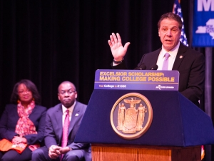 Governor Cuomo on Campus Tuesday, February 7