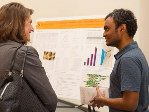 Graduate Student Research Fair Largest Ever in Six Years
