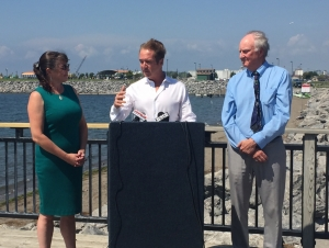 Congressman Higgins Announces NY Sea Grant for Great Lakes Center Water Study