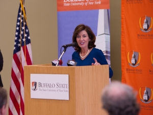Buffalo State Welcomes Lt. Governor for Excelsior Scholarship Information Session Thursday
