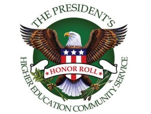 Buffalo State Recognized by President's Community Service Honor Roll