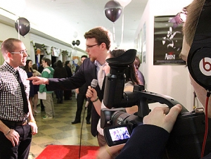 TFA Students Roll Out Red Carpet for Oscar Party