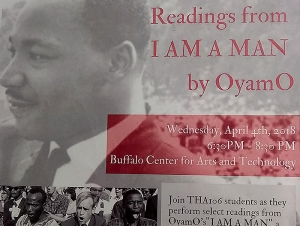 Students to Celebrate MLK's Life with Readings from Historic Play