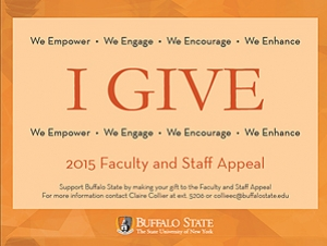2015 Faculty and Staff Appeal: From the President