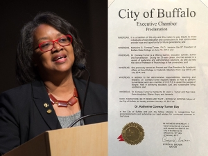 Mayor Honors President Conway-Turner at MLK Scholarship Breakfast