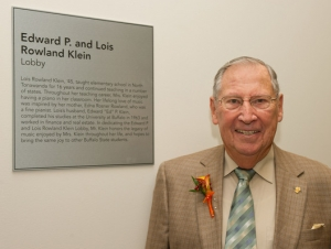 Alumna Honored with Naming of Recital Hall Lobby