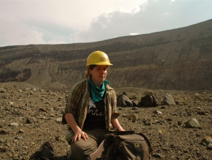 Geology Major Presents Volcano Research on Capitol Hill