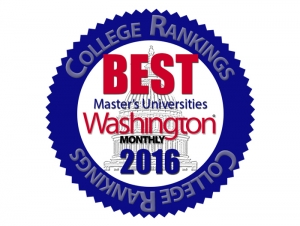 Buffalo State Earns Top-30 National Ranking from 'Washington Monthly' Magazine
