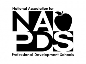 NAPDS Awards National Exemplary PDS Achievement Award to School of Education