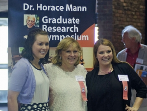 Exceptional Ed Graduate Students Share Research in Mann Symposium