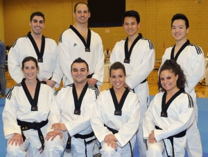 Faculty, Alumni, and Student Become Tae Kwon Do Masters