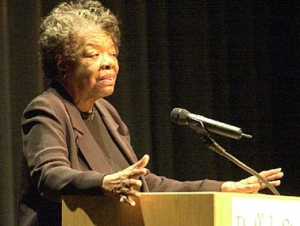 In the News: 'Remembering Maya Angelou's Visit to SUNY Buffalo State'