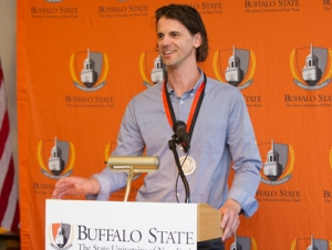 Miller Receives Young Alumnus Achievement Award