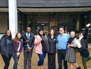 Buffalo State Mock Trial Team Competes in Rochester