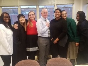 Mock Trial Team Competes at St. Bonaventure's Annual 'Friar Faceoff'