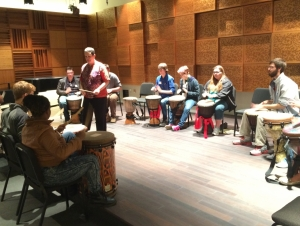Music Department Welcomes Potential Students for Day on Campus