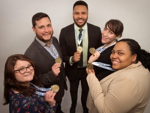 Students Win First Place in Regional MPA Simulation