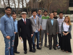 In the News: Nepali Students Help Their Homeland