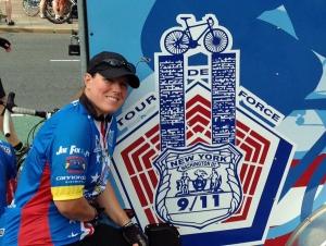 Pedlow Honors Fallen Police at Tour de Force 9/11 Memorial Bike Ride