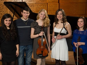 Five Soloists Featured in Young Artist Concert