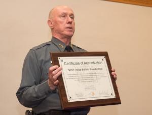 Buffalo State University Police Held 2017 Awards Ceremony