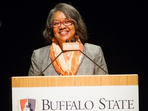 President Highlights Buffalo State's Place as SUNY's Urban-Engaged Campus
