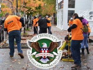 Buffalo State Named to President's Community Service Honor Roll