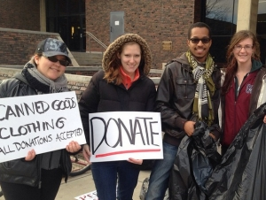 New Sustainability Group Hosts Clothing, Food Drive