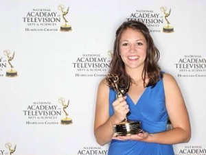 Alumna, Meteorologist Wins Emmy Award