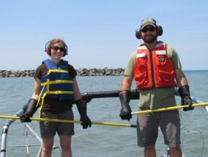 Graduate Students Go Fishing for Science