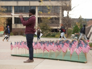 10th Annual Veterans Day Silent March: November 8