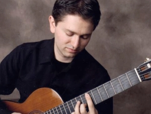 Former Guitar Faculty Member Returns to Campus for Performance