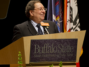 Podolefsky Focuses on Student Success in Annual Address