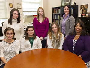 Speech-Language Pathology Students Honored for Fundraising Efforts