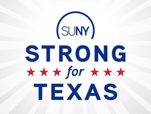Buffalo State Supports 'SUNY Strong for Texas' in Hurricane Relief Efforts