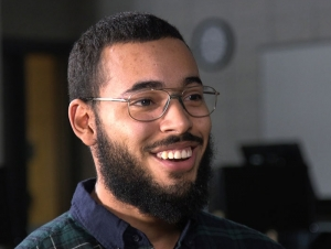 Students Who Soar: Hector Rosario Begins Computer Career on Campus
