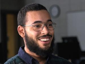 Students Who Soar: Hector Rosario Begins Computer Career on Campus