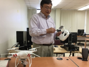 Drones Seek Out Water Chestnuts