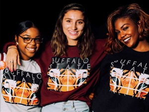 Innovative Students Launch New Line of Buffalo State Apparel