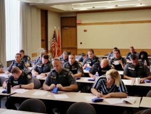 University Police Officers Receive Naloxone Training