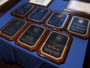 Two University Police Officers Receive Statewide Award