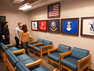 Unveiling of New Student-Veterans Lounge