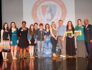 VSLC Recognizes Campus Service with Awards Ceremony