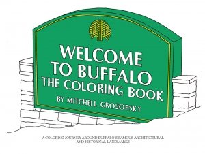 In the News: Alumnus Is Drawing Attention with Buffalo Coloring Book