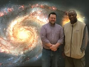 NASA Exhibit at Buffalo State Celebrates Hubble's 25th Anniversary