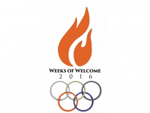 Students 'Go for the Gold' During Weeks of Welcome