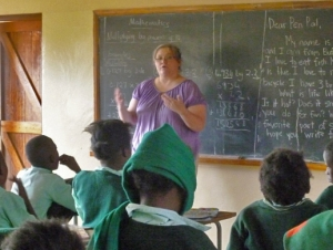 Professors and Students Travel to Zambia