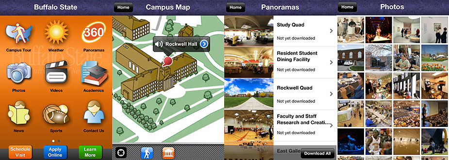 Buffalo State Launches 360 Campus Tour and Mobile App | News and ...
