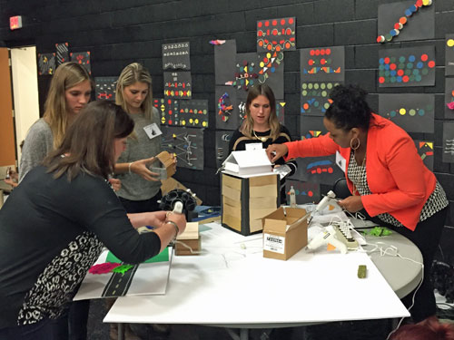 Interior design students architects bring lessons to - Interior design schools buffalo ny ...
